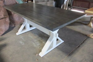 New Hand Made solid Maple Harvest Tables