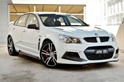 2017 Holden Special Vehicles Clubsport GEN F2 MY17 R8 LSA White 6 Speed  Sports Automatic Sedan