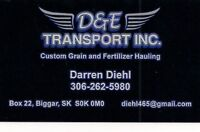 Owner/Operator Required for Grain & Fertilizer Hauling