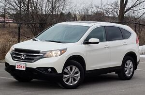 2014 Honda CRV EXL One Owner NO Accidents!