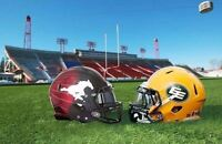 Western Final Eskimos  Calgary Stampeders Limousine Limo tickets