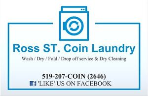 Mini Storage Available @ Ross ST. Coin Laundry in ST Thomas