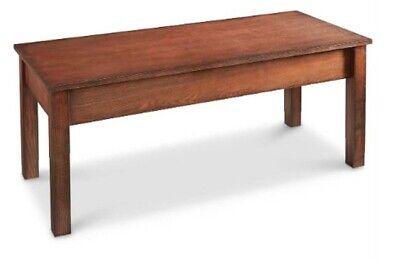 Gun Concealment Locking Drawer Coffee Table For Safe Weapon Hidden Storage