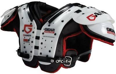 Gear Pro-Tech Gamer Adult Football Shoulder Pads - All Positions, New Position Football Shoulder Pads