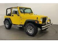 2001 Jeep Wrangler 4.0 SPORT 3d 174 BHP Convertible Petrol Manual