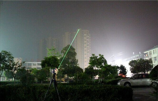 Powerful 10 Miles Range 532nm Green Laser Pointer Pen Visible Beam Lazer Light