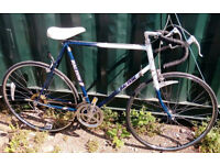 Vintage road racing bike RALEIGH frame size 21inch - 12 speed, serviced WARRANTY - new tyres