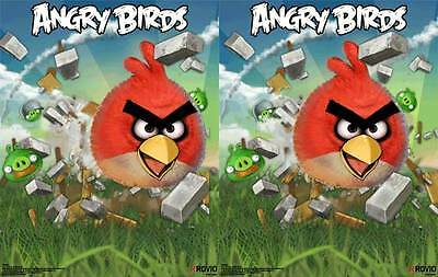 VIDEO GAME POSTER Angry Birds 3D