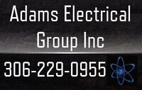 Adams Electrical Group Inc -Electrician Over 22 Years Experience