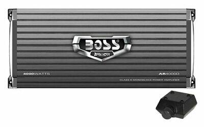 Boss ARMOR AR4000D Car Amplifier - 4000 W PMPO - 1 Channel -