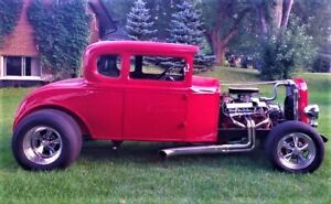 1931 FORD 5 WINDOW COUPE, HOT ROD, STREET ROD, MODEL A