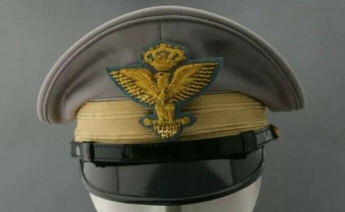 ww2 italia  general  visor hat.replica