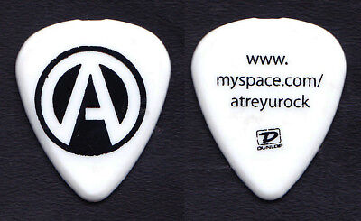 Atreyu White/Black Myspace Guitar Pick - 2008 Tour