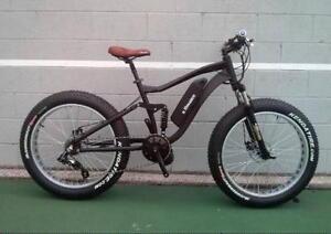 eRanger Full Suspension Electric fat Bike Mid Drive