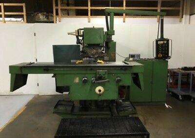 Fo400 Heckert Wmw Plain Knee-type Horizontal Mill Wpower Overarm - 28373