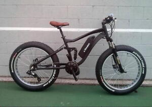 eRanger Full Suspension electric fat Bike