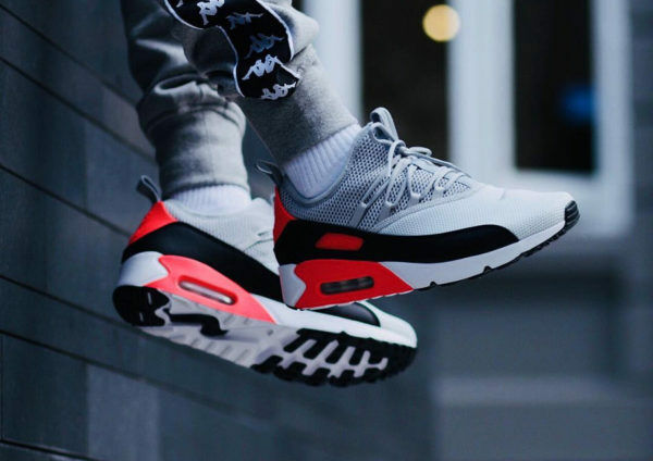 reputable site c1e5b e653f Nike Air Max 90 EZ AO1745-002 Pure Platinum Wolf Grey Men s Running Shoes