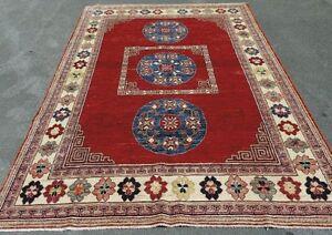 15582-Chobi Ziegler Hand-Knotted/Handmade Afghan Rug/Carpet Trib