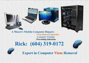 Do you have annoying Virus's and Pop up's? Call today!