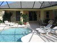 Luxury Florida Vacation Villa Disney Area South Facing Pool Spa 4 bedrooms Luxury