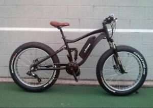 eRanger electric fat bike full suspension