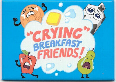 Steven Universe Animated TV Series Crying Breakfast Friends Refrigerator Magnet