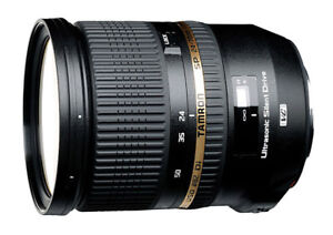 Objectif Tamron 24-70 mm F2.8 Di VC USD pour Nikon à vendre.
