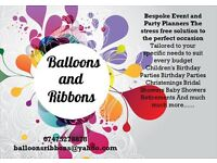 Balloons and Ribbons Party and Event Planning-Bespoke, Tailor Made Service