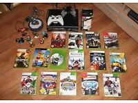 Large Xbox 360 package 15 great games for all ages, SKYLANDERS, WITH 8 FIGURES