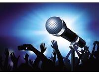 professional karaoke presenter seeks work