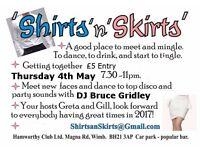 "Shirts ""N"" Skirts Meet and Mingle Disco"