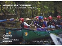 Face adventures with Berkshire Scouts