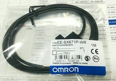 New Omron Photo Microsensor Ee-sx671p-wr 12-24vdc 1m Hpg