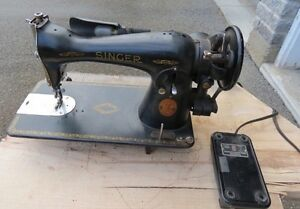 1949 Singer Model 15-91 Electric Sewing Machine