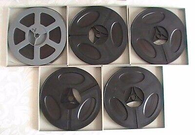 Night of The Living Dead - Super 8mm Film Full Movie on 5 Reels - George Romero!