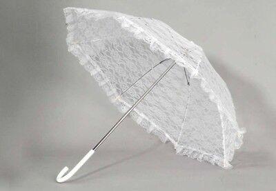 Lace Umbrella Wedding Parasol Bridal Shower Decoration Photograph Costume - Parasol Costume