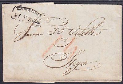 Österreich Lehmberg Vorphila Brief 1832 - Steyer, mit Inhalt