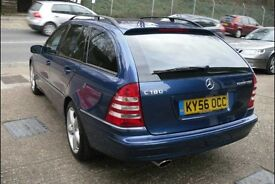 Mercedes C Class 180 Kompressor. immaculate condition throughout.