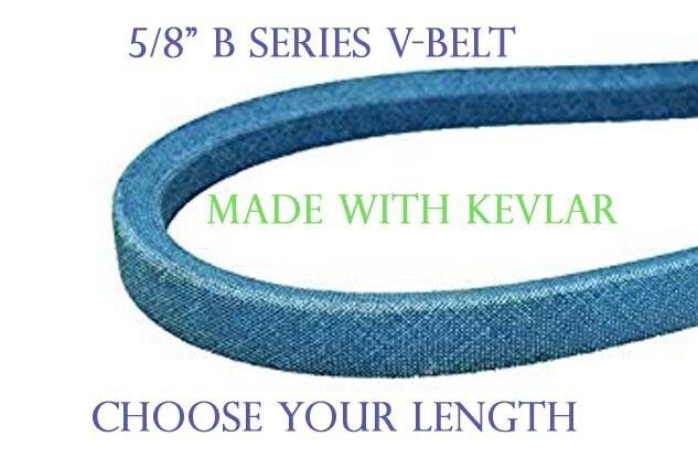 """B96K B-SECTION MADE WITH KEVLAR 5//8/"""" X 99/"""" BLUE V BELT"""