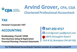 TAX - Personal / Corporate