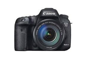 *** Canon EOS 7D Mark ii Body Only ***