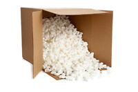 Clean styrofoam packing chips/packing peanuts