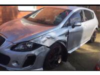 Seat Leon MK2 Btcc Sport 2.0 tdi Damaged Salvage Repairable £1795