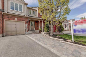 FULL TOWNHOUSE for rent 3 bdrms,finished walk-out bsmt, backyard