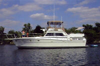 NEWLY REFURBISHED 43' BOAT/YACHT!