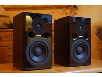 Fostex PM1 MK2 pair of active studio monitor speakers. Mint.
