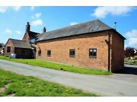 SHROPSHIRE - VACANT NO CHAIN - 2 bed Barn converted house for sale Offers region of £210,000 TF11