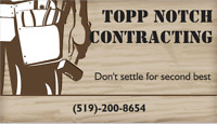 Contracting / Contractor available