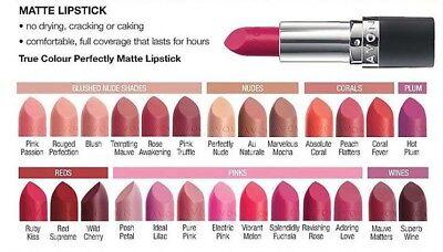Avon Perfectly Matte Lipstick FULL SIZE - choice of shades