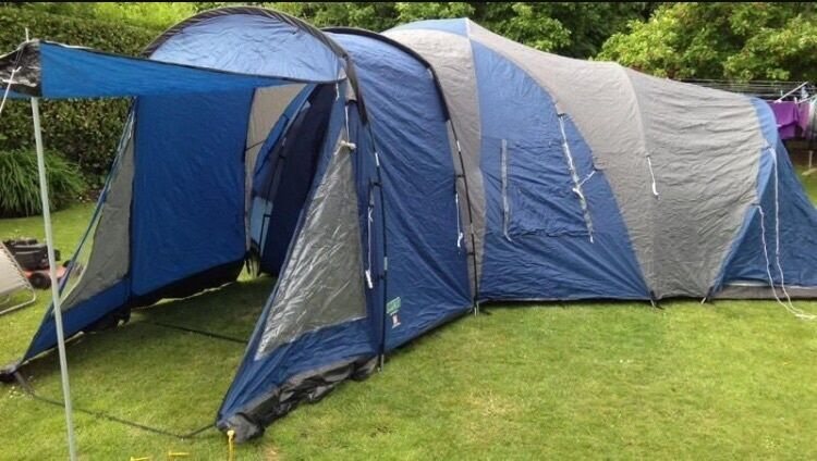 6 Man 2 Bedroom Tent With Living Space And Cooking Area Royale Rhgumtree: 2 Bedroom Tent At Home Improvement Advice